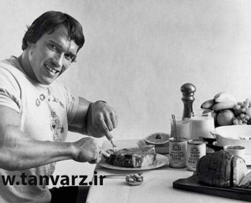 تغذیه قبل از تمرین