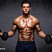 افزایش حجم عضلات سینه